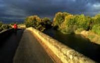 Ponte de Itero de Vega no trecho entre Castrojeriz e Fromista