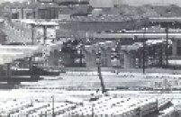 Obras do Terminal Barra-Funda em 18 de janeiro de 1988