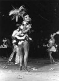 Desfile da escola de Samba carioca Portela, 1971
