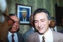 Michel Temer durante sua 2ª posse como secretário de Segurança Pública do Estado de São Paulo, 08/10/1992