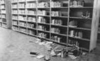 Resultado da invasão policial no encontro de estudantes na PUC, 23/9/1977.