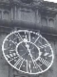 Relógio do mosteiro de São Bento, que juntamente com os sinos, foram instalados na reforma que começou em 1910.