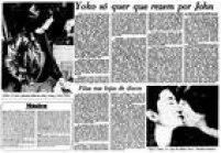 A viúva de Lennon, Yoko Ono, pedia aos fãs que rezassem pelo cantor.<a href='http://acervo.estadao.com.br/pagina/#!/19801211-32439-nac-0027-999-27-not/busca/Lennon' target='_blank'>O Estado de S.Paulo 11/12/1980</a>
