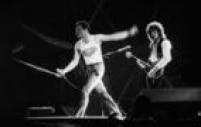 Show do Queen,20/31981. Em sua primeira vinda ao Brasil, a banda inglesa se apresentou no estádio do Morumbi, em São Paulo