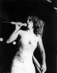 Show de Gal em São Paulo em março de 1982