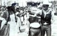 Quadrilha de festa de São João, 1988