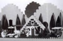 Criado pelo dinamarquêsOle Kirk Kristiansenna década de 1930, o sistema Lego usa peças para montar diferentes criações.