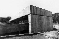 Obras de construção do Museu Brasileiro de Escultura (MUBE, localizado na Zona Sul de São Paulo.