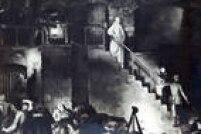 Quadro de 1918 retrata o momento em que a enfermeira se caminhava até o paredão, onde o pelotão de fuzlilamento alemão a aguardava