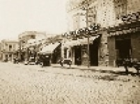 Praça Verdi, atual Praça do Correio, em 1915, vista a partir da esquina da Rua Formosa com a Rua do Seminário em direção à Rua de São João.