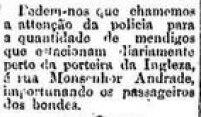 Notíciasobre outra 'Porteira da Ingleza' que ficava perto da Estação Pary,<a href='http://acervo.estadao.com.br/pagina/#!/19031001-9071-nac-0003-999-3-not/busca/porteira+Ingleza' target='_blank'>publicada em 1/10/1903</a>