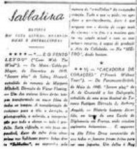 """Guilherme de Almeida na<a href='http://https://acervo.estadao.com.br/pagina/#!/19400921-21793-nac-0004-999-4-not' target='_blank'>coluna Cinema de 21/9/1940</a>: """"Ninguém tem o direito de exigor mais do cinema..."""""""