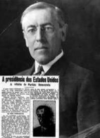 <a href='http://acervo.estadao.com.br/pagina/#!/19121107-12379-nac-0005-999-5-not/busca/Woodrow' target='_blank'>Eleição:1912</a>/<a href='http://acervo.estadao.com.br/pagina/#!/19161111-13836-nac-0002-999-2-not/busca/Woodrow' target='_blank'>Reeleição:1916</a>/ Partido: Democrata