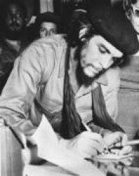 O líder guerrilheiro Ernesto CheGuevara em Havana,Cuba, 20/01/1959.