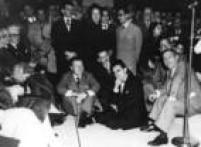 Nelson Rockefeller e Assis Chateaubriand, em 1950