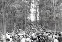 Cerca de 100 mil pessoas participaram da festa da inauguração