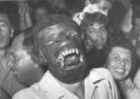 Foliãousa máscara no baile de carnaval do Clube Atlético Paulistano, em São Paulo, 1956