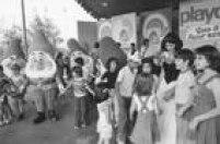 Branca de Neve e os Sete Anões em show no Playcenter.