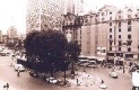 A Praça do Patriarca começou a ser construída em 1912, quando um decreto municipal declarou a área em frente a Igreja Santo Antônio de domínio público.