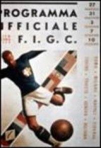 Cartaz do Mundial de Futebol na Itália em 1934.