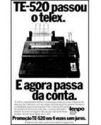 Anúnciod o<a href='http://https://acervo.estadao.com.br/pagina/#!/19880814-34807-nac-0016-999-16-not' target='_blank'>TeleimpressorTR-520 da Tenpo</a>, no Estadão de 14/8/1988