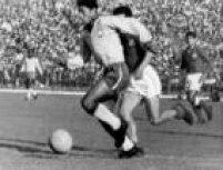 Amarildo em campo, durante a Copa do Mundo de 1962