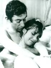 Serg Gainsbourg e Jane Birkin no filme 'Slogan'