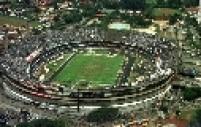 Vista aérea do Estádio Cícero Pompeu de Toledo, mais conhecido como estádio do Morumbi, na zona sul de São Paulo