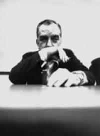 O dramaturgo, jornalista e escritor brasileiro,<a href='http://acervo.estadao.com.br/noticias/personalidades,nelson-rodrigues,691,0.htm' target='_blank'>Nelson Rodrigues</a>, durante palestra em São Paulo, SP13/11/1973.