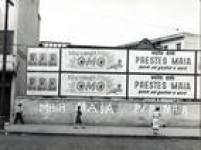 Cartazes de Adhemar de Barros e Prestes Maia, candidatos a prefeito na<a href='http://acervo.estadao.com.br/noticias/acervo,paulistanos-vao-as-urnas-escolher-prefeito-pela-17-vez,7185,0.htm' target='_blank'>eleiçãode 1957</a>