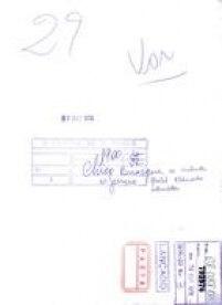 Verso da folha de contato com as identificações para o arquivamento em 1979.
