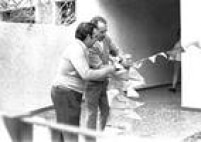 Casa onde Rivelino morava com os pais, no Brooklin, foi enfeitada por dentro e por fora