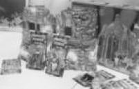 Inspirado no<a href='http://acervo.estadao.com.br/procura/#!/%22he+man%22/Acervo/acervo' target='_blank'>seriado de televisão</a>,He Man e sua turma enfrentavam vilões liderados pelo Esqueleto no fascinante castelo de Greyskull. Foto 1988