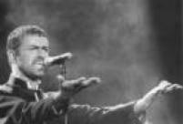 George Michael no Rock in RioI, 26/1/1991.
