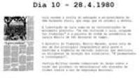 Ex-presidente da Ordem dos Advogados do Brasil vai ao Dops.