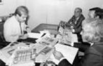 Gugu Liberato fecha contrato com SBT após ser sondado pela Globo, 1988.