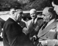 Assis Chateaubriand e Getúlio Vargas, na década de 1930