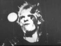 Sting, vocalista da banda inglesa The Police, durante show no Maracanãzinho, Rio, 1982