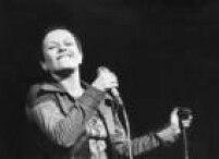 Elis Regina ensaiando para show em 1973