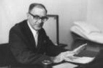 Zerbini em seu consultório, 20/11/1973