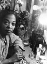 Retrato da atriz Ruth de Souza,São Paulo, SP, 04/7/1964.