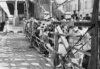 Das 'Porteiras da Ingleza', a do Brás era a mais movimentada da cidade. Foto de 1957