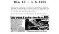 Governos decidiram permitir manifestação no<a href='http://acervo.estadao.com.br/pagina/#!/19800503-32249-nac-0021-999-21-not' target='_blank'>1º de maio</a>.