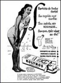 Publicidade da pasta de dentes Kolynos no<a href='http://https://acervo.estadao.com.br/pagina/#!/19530716-23981-nac-0005-999-5-not' target='_blank'>Estadão de 16/7/1953</a>