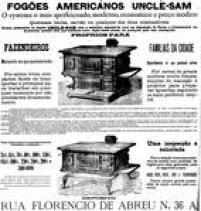 A propaganda dos fogões foi<a href='http://https://acervo.estadao.com.br/pagina/#!/18880124-3846-nac-0003-999-3-not/busca/fog%C3%A3o' target='_blank'>publicada em 24/1/1888</a>