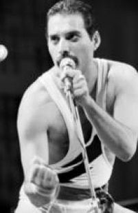 Freddie Mercury do Queen no Rock in Rio I, 11/01/1985