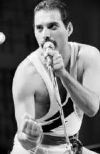 Freddie Mercury do Queen no Rock in Rio I, 11/01/1985