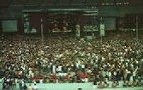 Público durante o show no Maracanã, Rio de Janeiro em 1993.