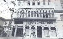 Antiga sede do Arquivo do Estado. Atualmente ele esta localizado na Avenida Cruzeiro do Sul, zona norte de São Paulo