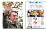 O deputado<a href='http://https://politica.estadao.com.br/noticias/eleicoes,bolsonaro-e-o-3-militar-eleito-pelo-voto-direto,70002570438' target='_blank'>Jair Bolsonaro</a>(PSL ) vence Fernando Haddad (PT) e se torna o presidente eleito do País nas eleições de 2018. Clique<a href='http://https://fotos.estadao.com.br/galerias/acervo,candidatos-no-acervo-jair-bolsonaro,38117' target='_blank'>aqui</a>para conhecer a história de Jair Bolsonaro naspáginas do jornal.
